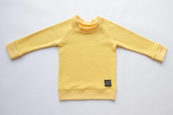 Mikina basic žltá