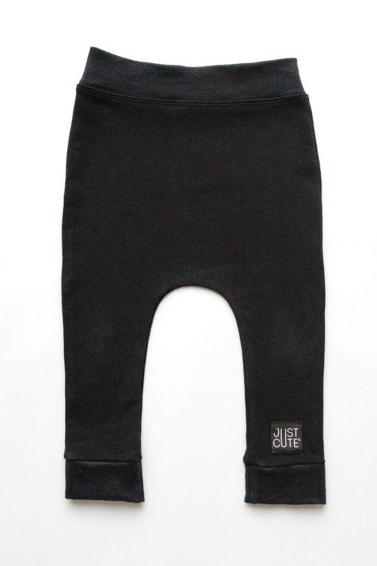 Tepláky basic winter čierna