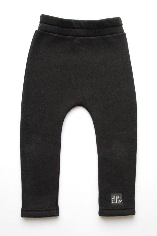 Tepláky classic winter čierna