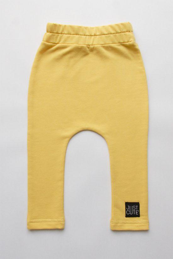 Tepláky classic žltá