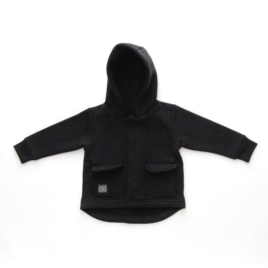 Kabátik casual čierna