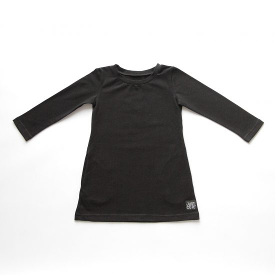 Šaty pocket čierna