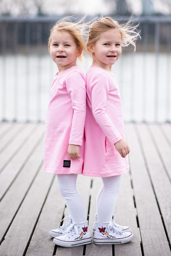 Šaty pocket ružová