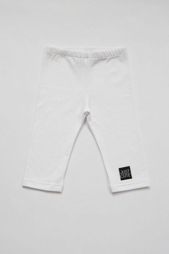 Legíny classic style summer biela