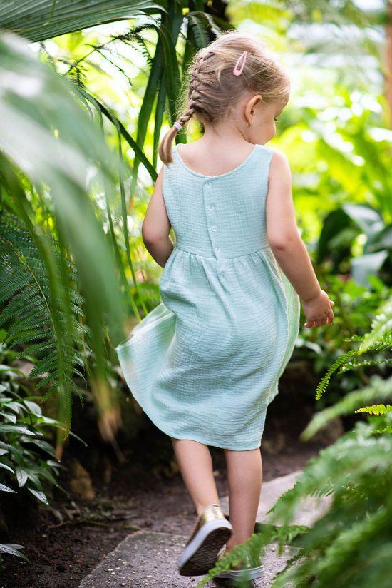 Šaty muslin model