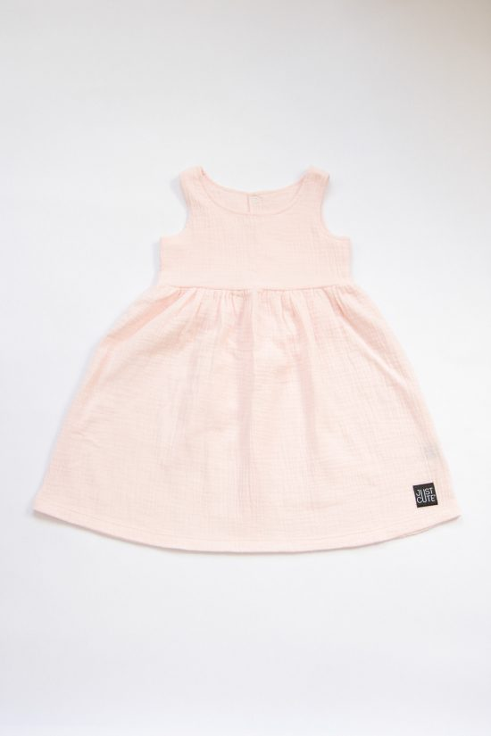 Šaty muslin ružová