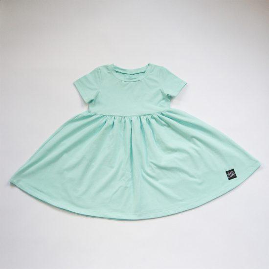 Šaty spinning pastel mint