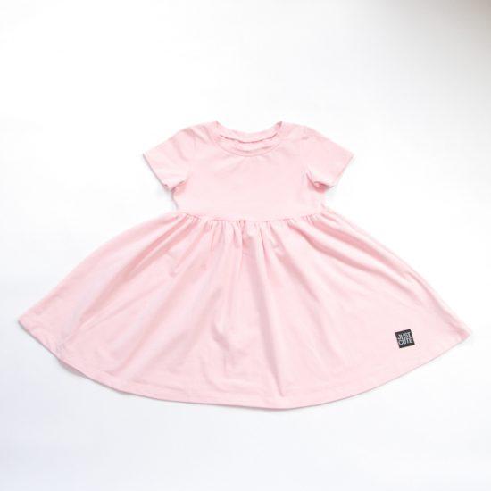 Šaty spinning ružová