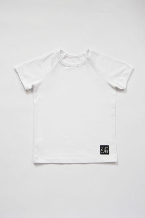 Tričko simple summer biela