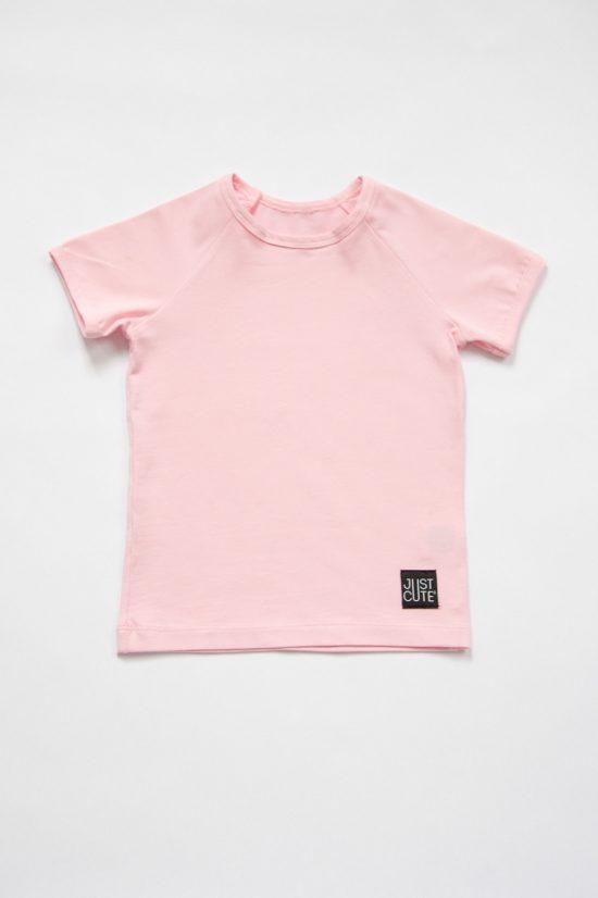 Tričko simple summer ružová