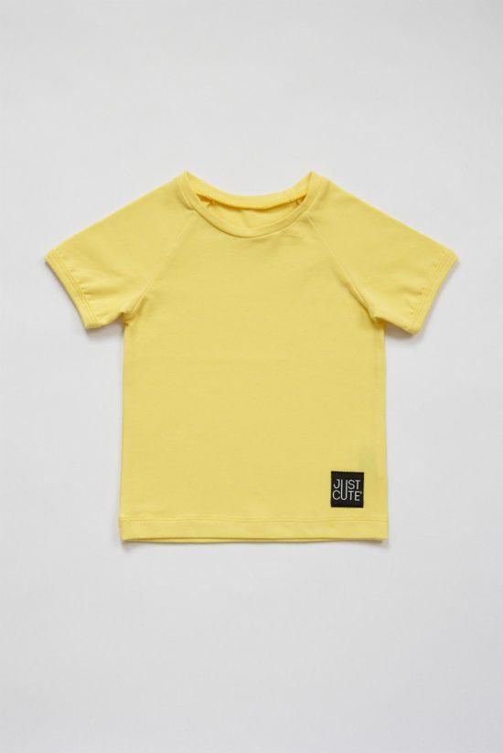 Tričko simple summer žltá jasná