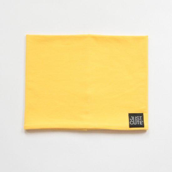 Nákrčník double žltá
