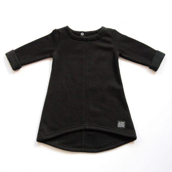 Šaty cute winter čierna