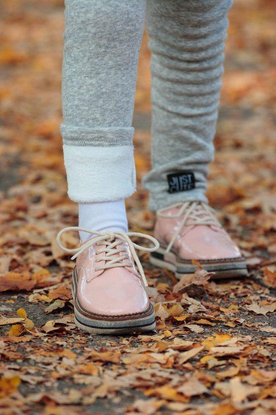 Legíny classic style winter detail nohávu