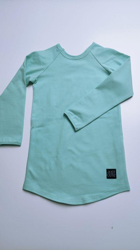tričko long mint